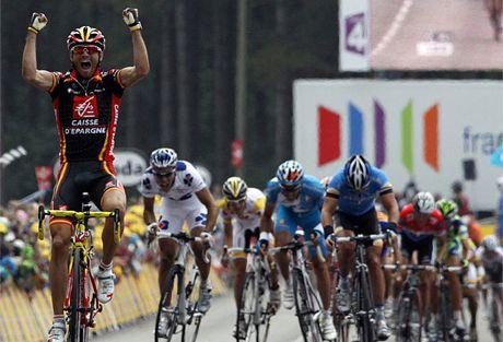 Valverde 2008ko Tourreko 1. etapan