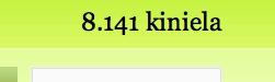 8141 kiniela, Espainiako Vueltan inoizko marka