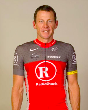 Armstrong Radio Shack maillot berriarekin