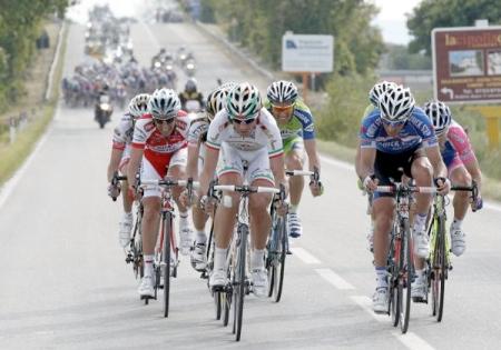 2010eko Giroko 12. etapan oilarren ihesaldia