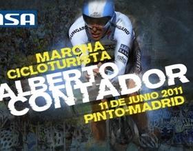 Alberto Contador martxa