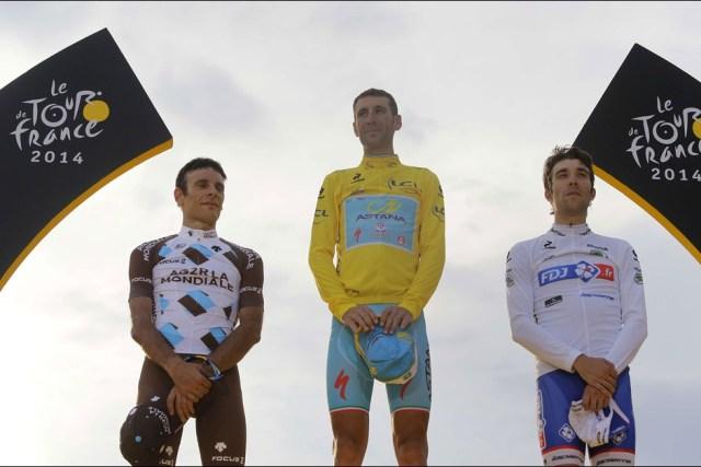 Frantziako Tourra 2014 Pariseko Podiuma