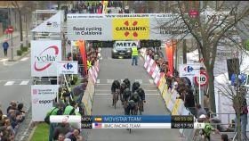 Movistar taldea Voltako 2. etapan helmugaratzen