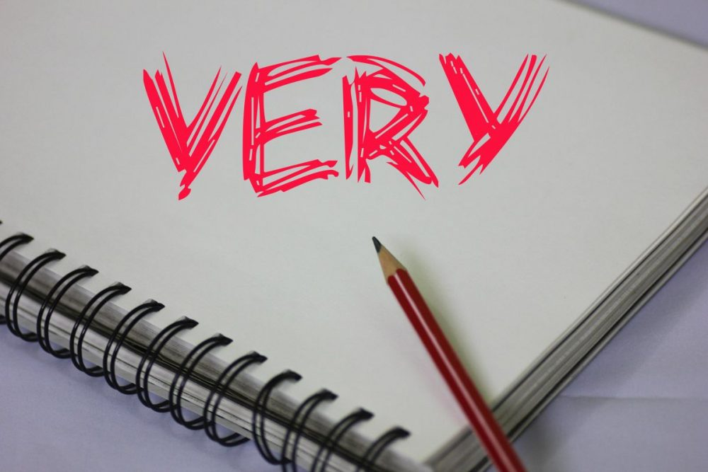 Replace the word 'very' in your writing