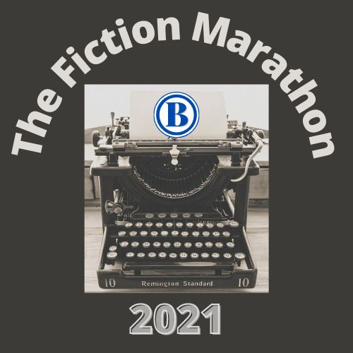 The badge of The Blogable Fiction Marathon for 2021.
