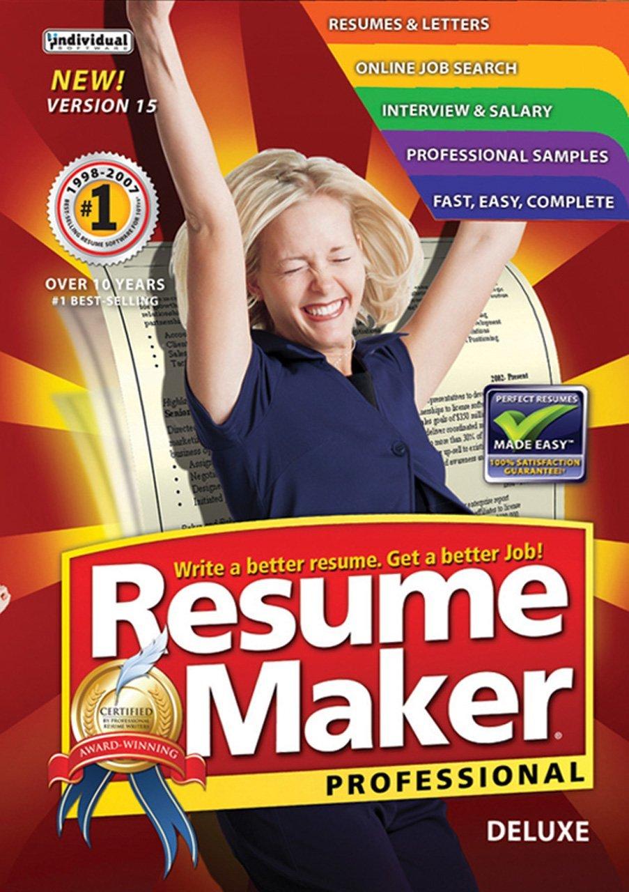 resumemaker professional deluxe 15 download review resume builder