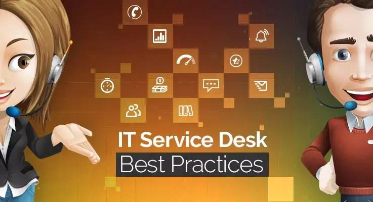 service desk Best Practices