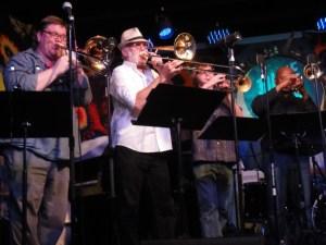 DSC05667Big Band pour les 100 ans de Sun Râ au « Blue Nile » 2