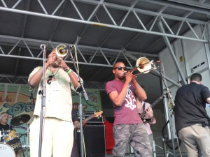 James Andrews et Trombone Shorty