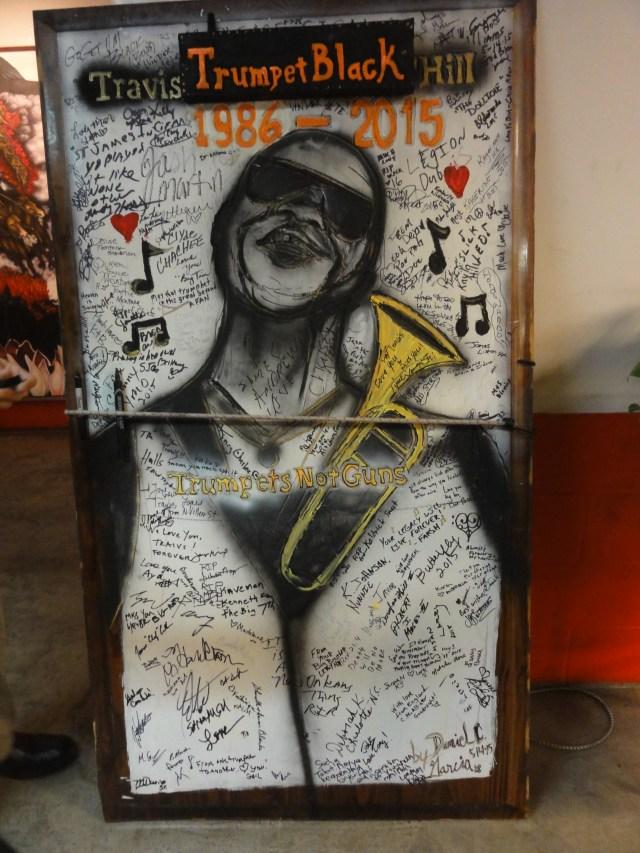 Peinture hommage