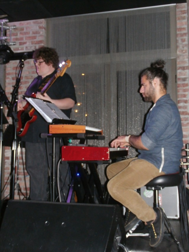 Andrew Elmo Price on bass
