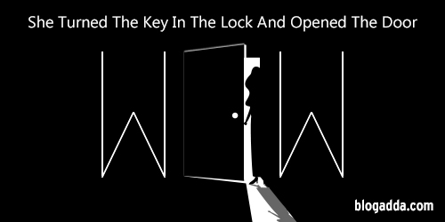 WOW: She Turned The Key In The Lock And Opened The Door