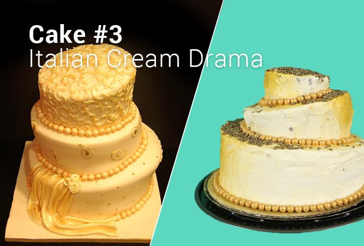 Wedding cake taste test