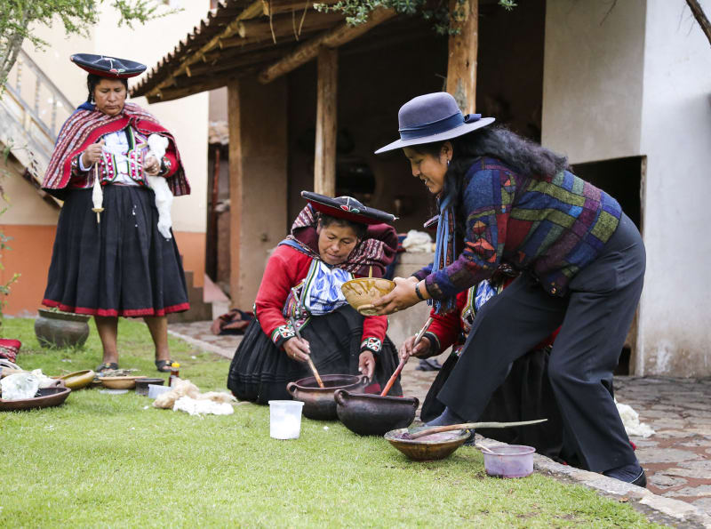 How Sustainable Tourism Helps the Women of the Andes