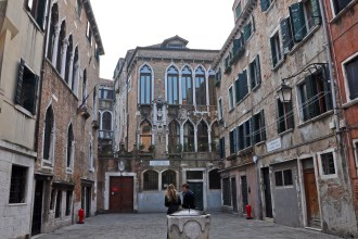 In the sestiere of Cannaregio