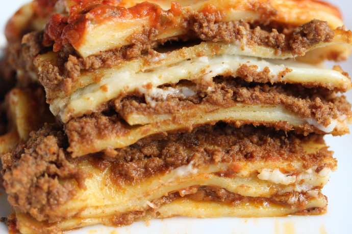 A well-made lasagna   Photo by Mike Easton of ilcorvopasta.com/