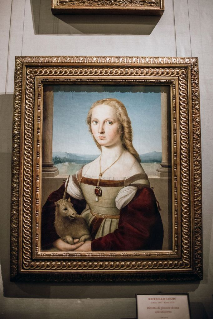 Portrait of a Young Lady with a Unicorn by Raphael