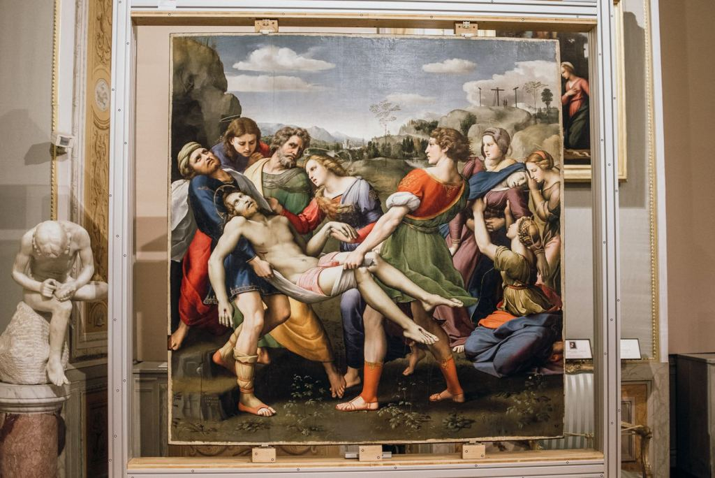 The Deposition by Raphael