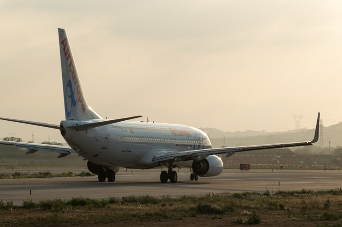 blended winglets de un Boeing 737-800