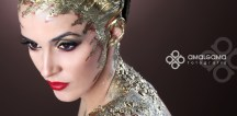 Maquillaje oro