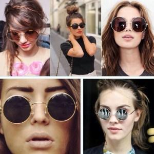 Óculos redondos trazem personalidade e estilo
