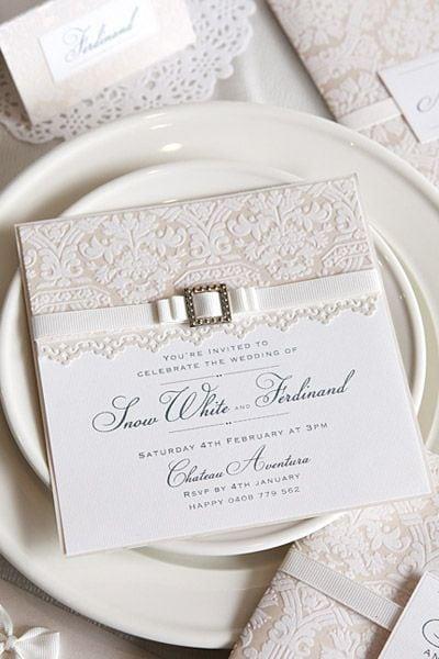 convite casamento classico