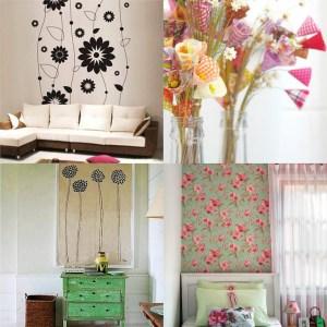 Ideias para decorar com Flores