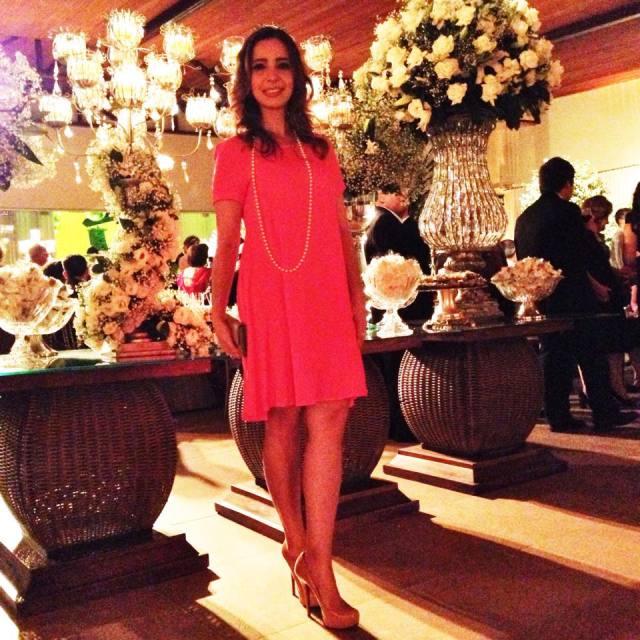 Vestido Pink Fe Goncalves