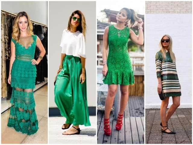 Look Verde Ano Novo