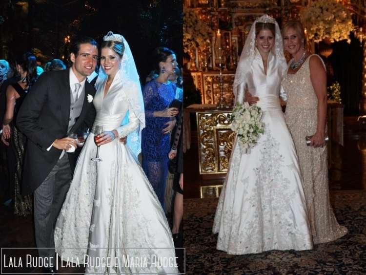 Vestido de Noiva Lala Rudge