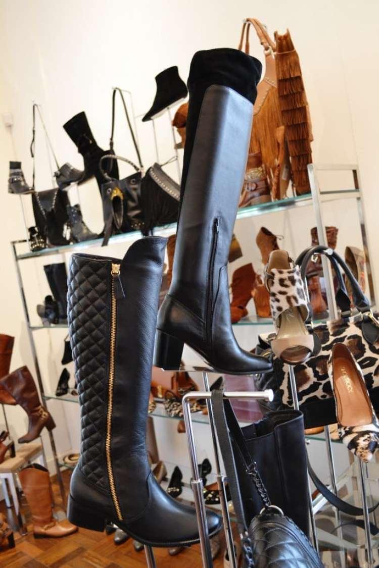 Bota Cano Alto Shoestock
