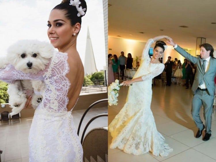 Vestido de Noiva Fernanda Machado