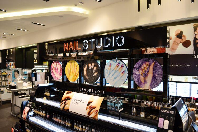 Comprando Maquiagem Sephora