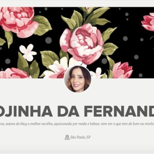 Lojinha da Fernanda no Enjoei – 1˚Edição