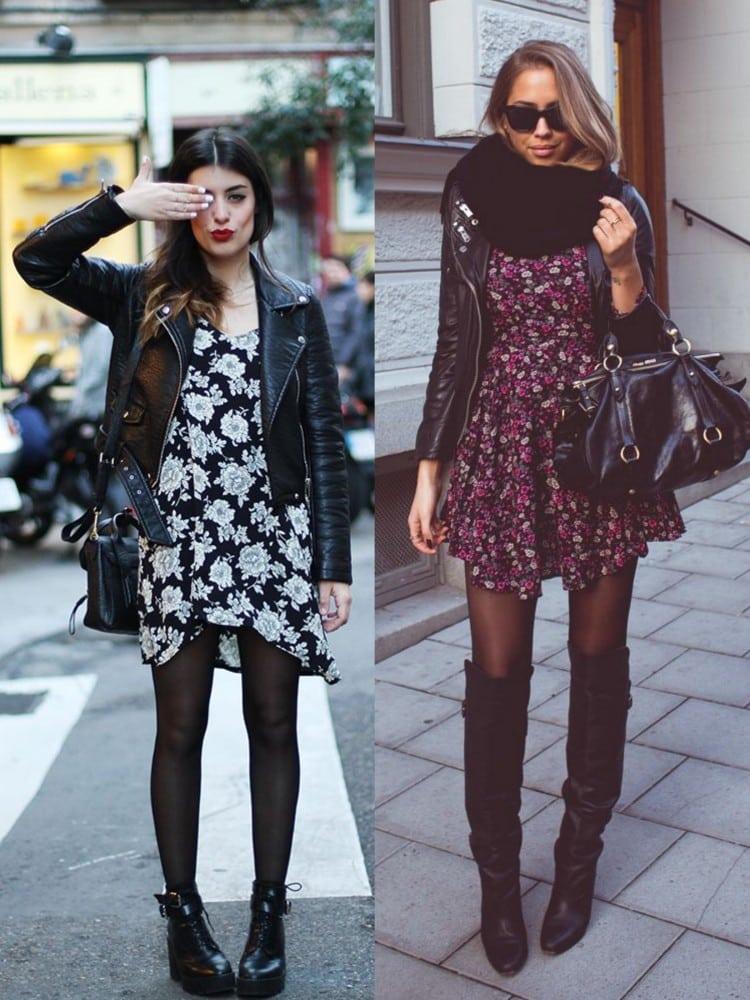 look inverno com vestido e bota