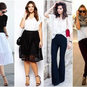 Inspiração: Looks Preto e Branco
