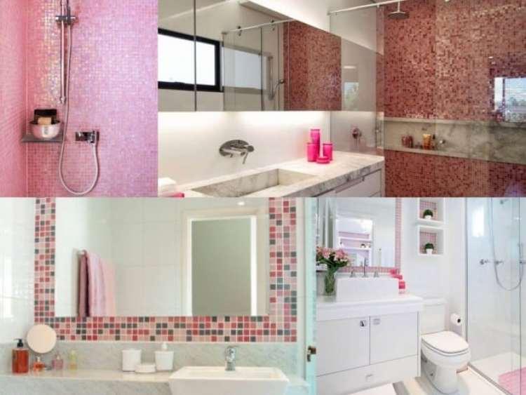 a melhor escolha_rosa na decoracao do banheiro