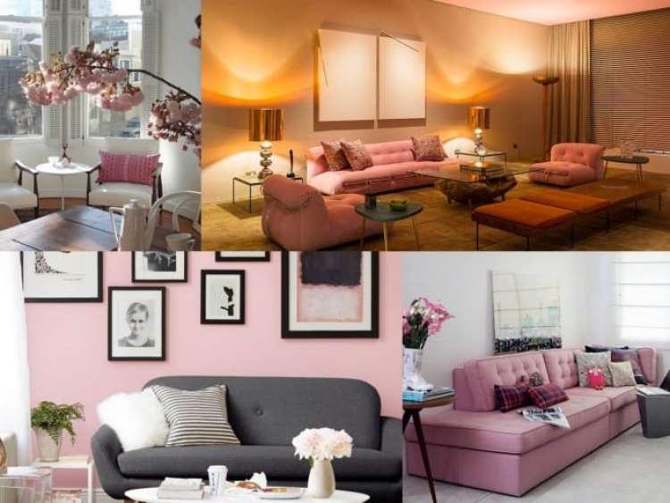 a melhor escolha_rosa quartzo na decoracao da sala