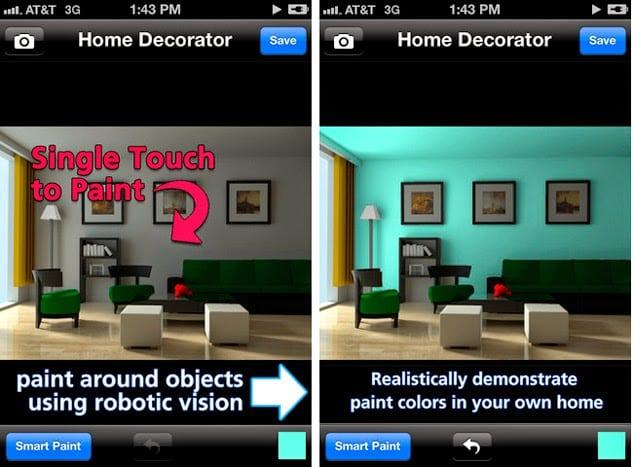 dicas de aplicativo de decoracao