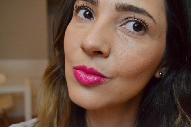 swatche batom gel da avon pink moderno