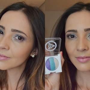 Maquiagem colorida inspirada na Primavera