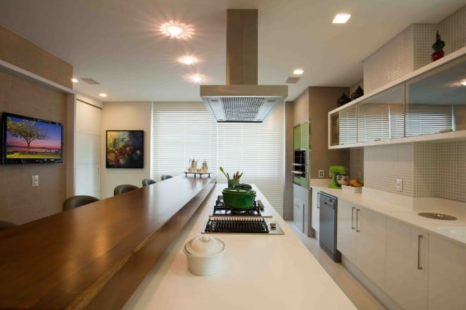 como decorar uma cozinha gourmet