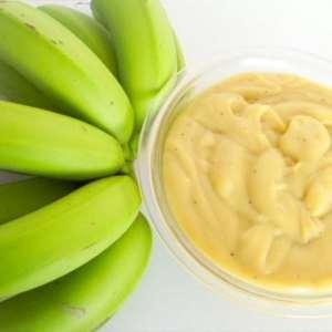 Biomassa de banana verde na gastronomia saudável