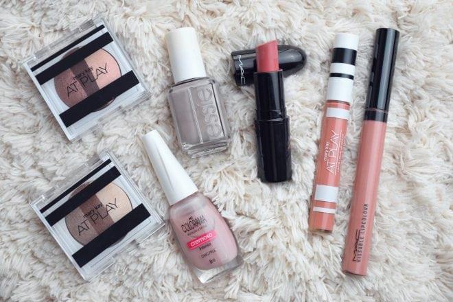 dica de maquiagem nude com cores neutras