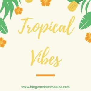 Inspiração: Looks com estampa tropical