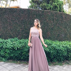 Vestido para Madrinha de Casamento com The Dressing Project