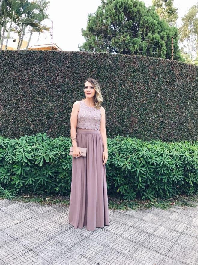 Vestido para madrinha de casamento em São Paulo na The Dressing Project