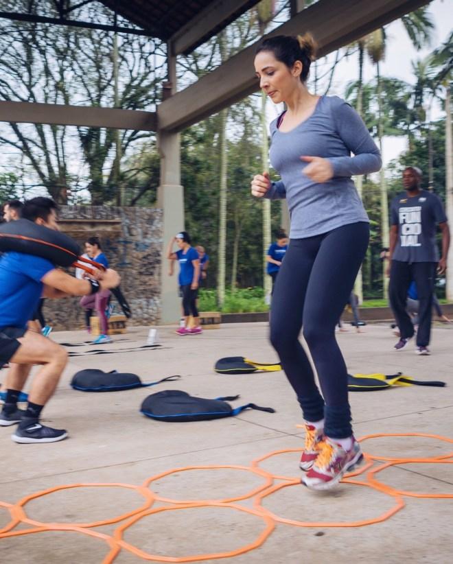 Informações sobre os treinos de Circuito Funcional e Ioga com a Track&Field do Itaim Bibi em São Paulo.