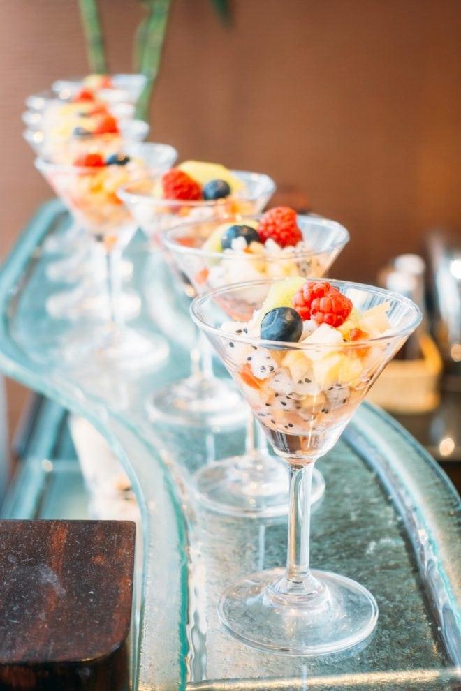 Tipos de serviço de buffet para festas de casamento