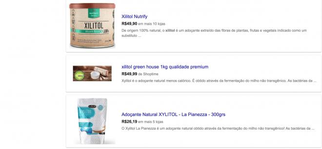Xilitol um adoçante natural para ser usado no lugar do açúcar e do adoçante